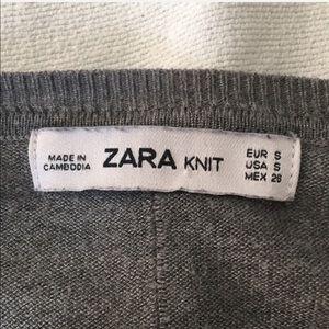 Zara Tops - Zara gray sweater